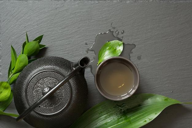 Zielona japońska herbata