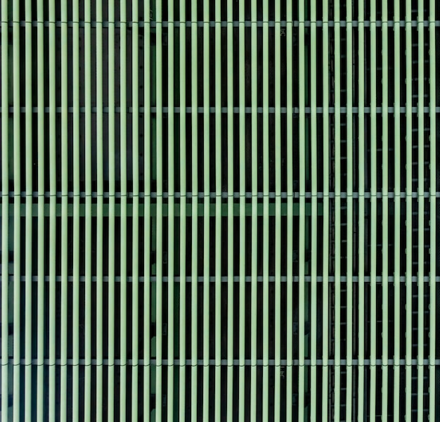 Zielona metalu grilla metalu siatki dziury tekstura