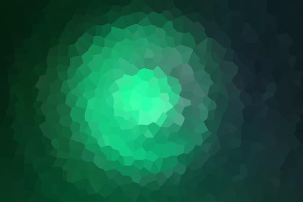 Zielona mozaika abstrakcyjny wzór tekstury, tapeta z miękkim rozmyciem tła
