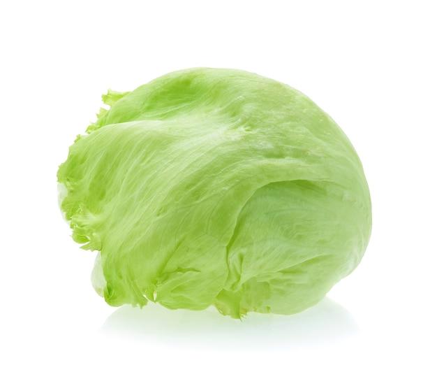 Zielona sałata lodowa