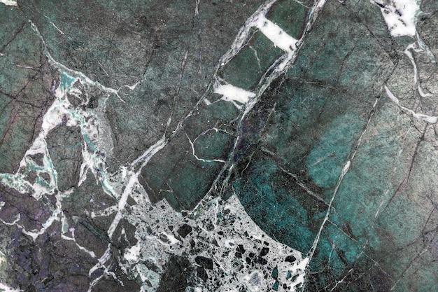 Zielona ściana z marmuru kamień tekstura.