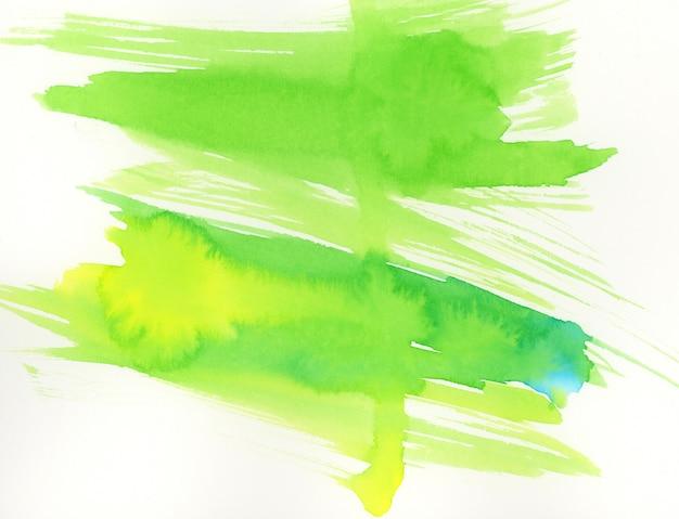 Zielona tekstura pociągnięć pędzlem
