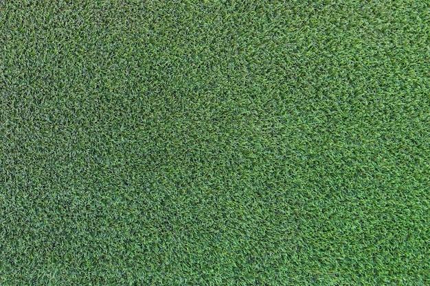 Zielona trawa sztuczna tekstura tło pola
