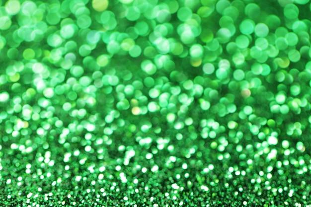 Zielone błyszczące tło