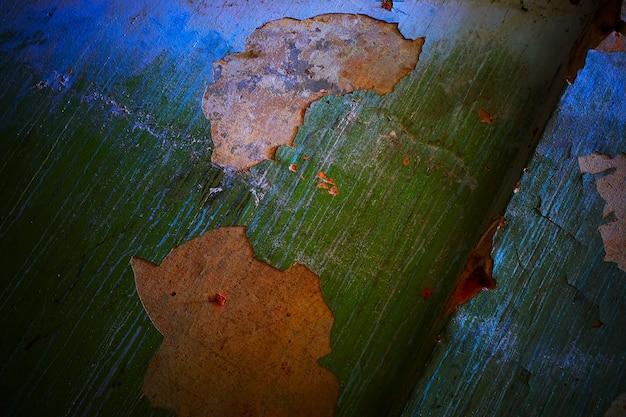 Zielone pęknięte ściany tekstury tła hd