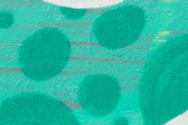 Zielone pomalowane tło ściany