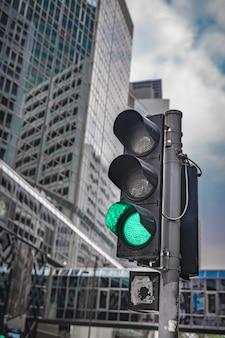 Zielone światło drogowe