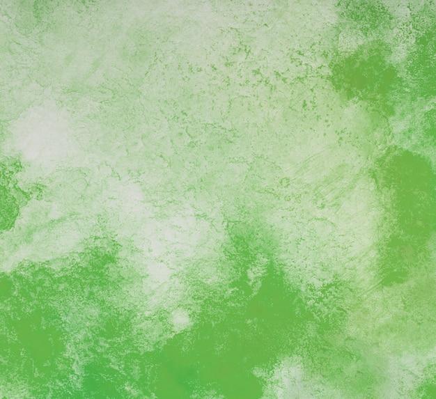 Zielone tło akwarela. rysując