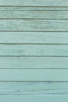 Zielone tło drewniane wykonane ze starych desek do kopiowania przestrzeni. kolor miętowy