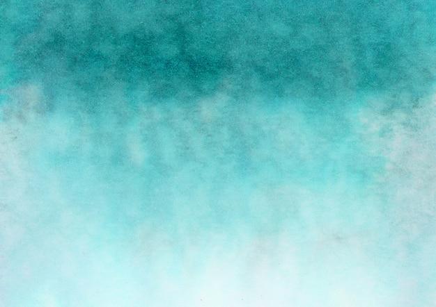 Zielone tło gradientowe akwarela
