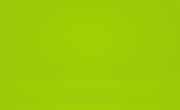 Zielone tło gradientowe streszczenie pusty pokój z miejscem na tekst i obraz.