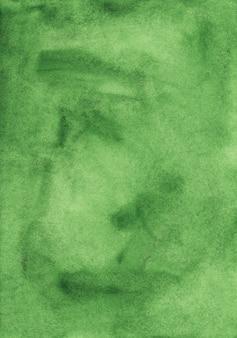 Zielone tło powierzchni akwarela