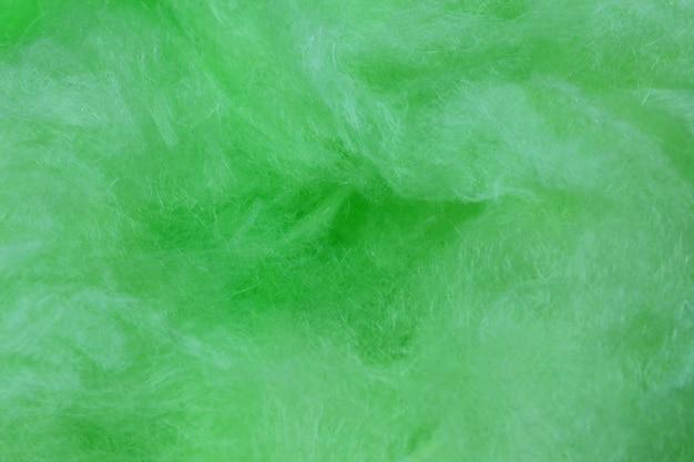 Zielone tło waty cukrowej