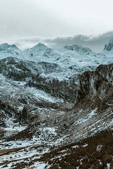 Zielone tony w górach
