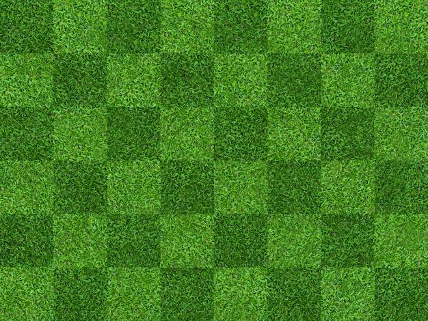 Zielonej trawy pola wzoru tło dla piłki nożnej i futbolu.