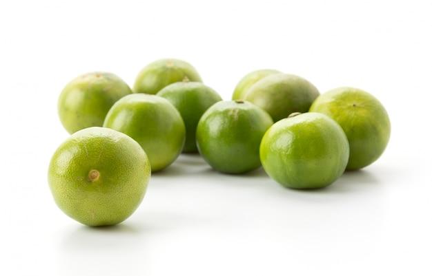 Zielony cytrynowy