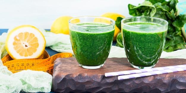 Zielony detox smoothie do diety
