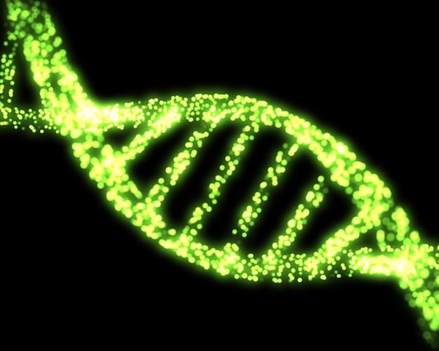 Zielony dna helix