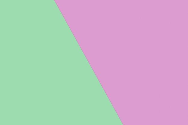 Zielony i różowy pastelowy kolor papieru na tle tekstury