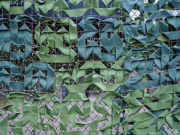 Zielony Kamuflaż Netto Zbliżenie Premium Zdjęcia