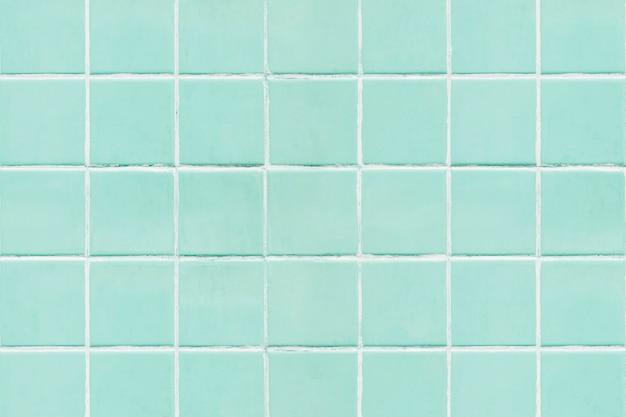 Zielony kwadrat kafelkowy tekstury tła