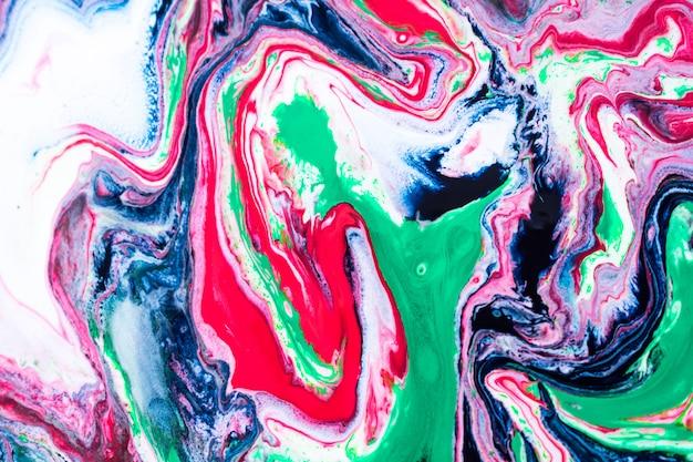 Zielony niebieski marmur tekstura tło