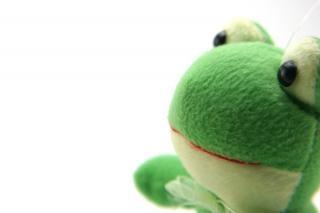 Zielony puszysty zabawka, fantasy