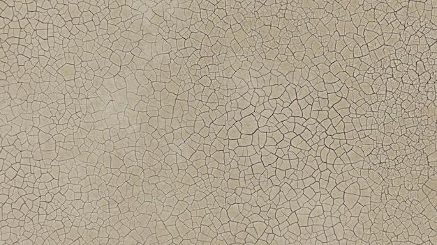 Ziemia ma pęknięcia w widoku z góry na tle lub projekt graficzny z koncepcją suszy i śmierci. transparent.
