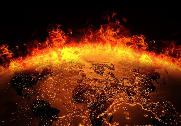 Ziemia płonie ogniem