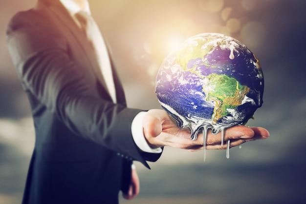 Ziemia się topi. zatrzymać globalne ocieplenie