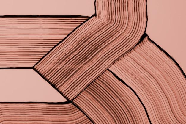 Ziemisty brązowy grzebień malujący teksturowane tło abstrakcyjna sztuka