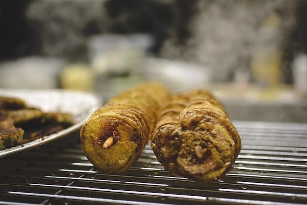 Ziemniak spirali na siatce