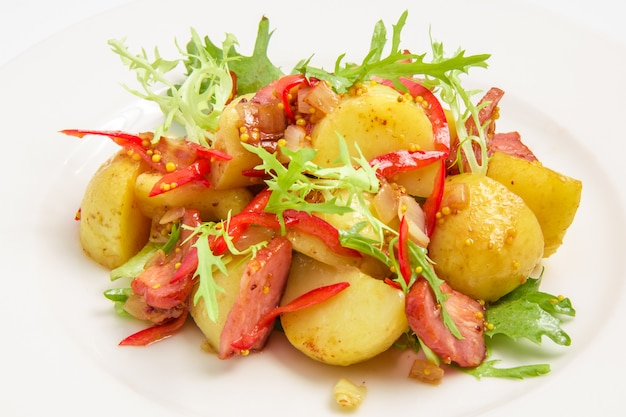 Ziemniak z mięsem