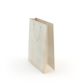 Zilustruj papierową torbę