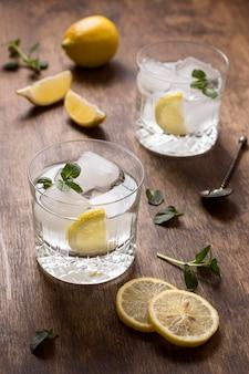 Zimne napoje gotowe do podania