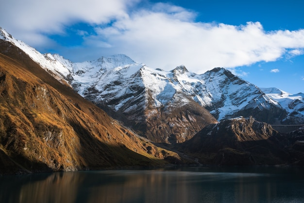 Zimowe jezioro