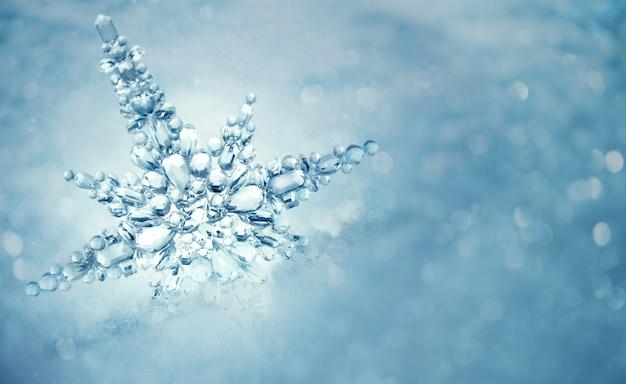 Zimowe tło