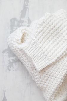 Zimowe ubrania na ceramice