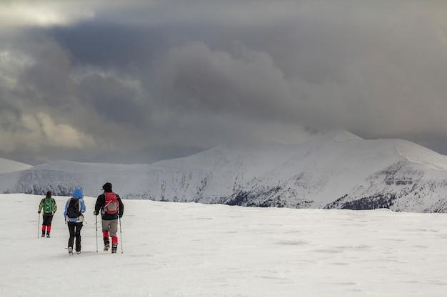 Zimowy krajobraz górski