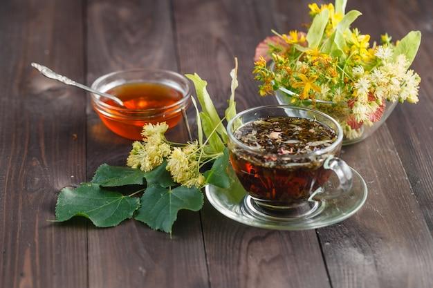 Ziołowa herbata lipowa