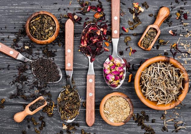 Ziołowe miseczki do herbaty