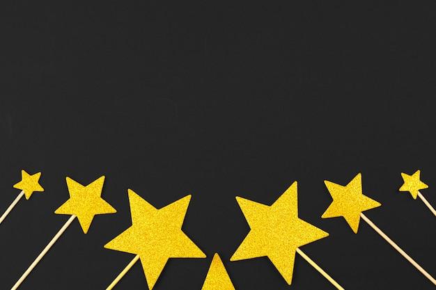 Złota gwiazda dekoracji