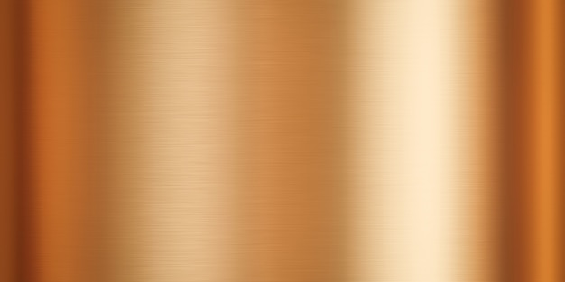 Złota metalowa płyta stalowa i metaliczne tło tekstury z błyszczącym wzorem złotej powierzchni materiału. renderowanie 3d.