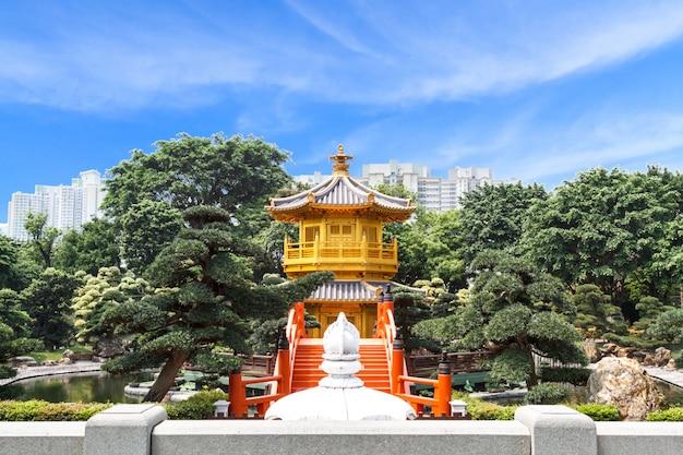 Złota pagoda w nan lian garden