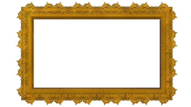 Złota ramka na zdjęcia