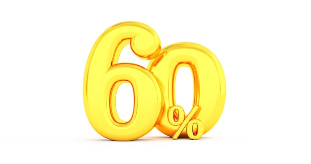 Złote 60% zniżki