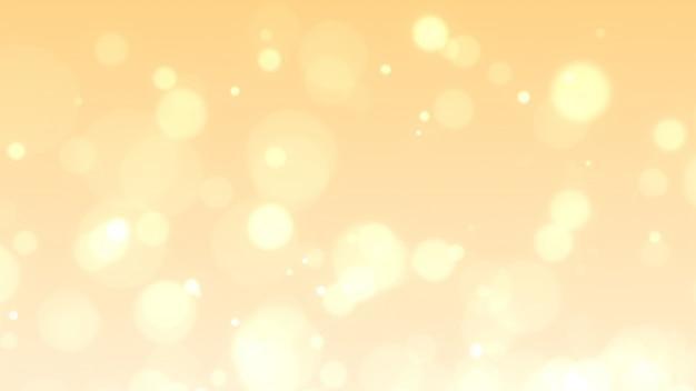 Złote abstrakcyjne iskierki lub blask świateł. tło