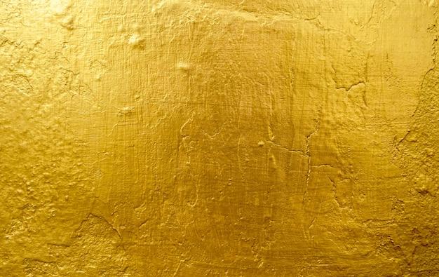 Złote tło lub tekstury i cienie, stare ściany i zadrapania