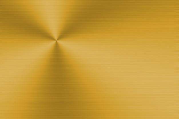 Złote tło metalowe z realistyczną szczotkowaną teksturą