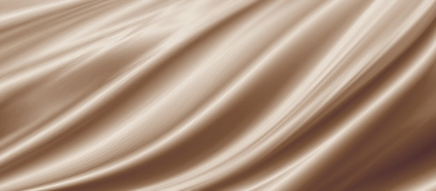 Złoto brązowa tkanina tekstura tło ilustracja 3d